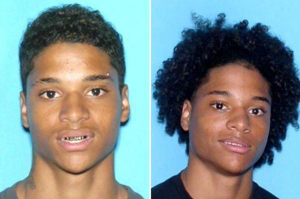 Police want to talk with twins Matthew (left) and Michael Russo about the Lauderhill Mall brawl on June 25.