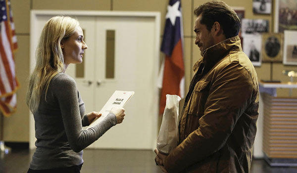 "Diane Kruger, left, and Demian Bichir star in ""The Bridge."""