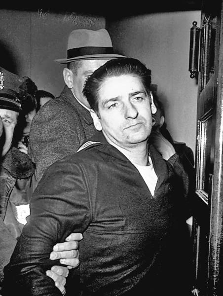Albert DeSalvo, who confessed to the Boston Strangler killings but later recanted, is shown shortly after his arrest in February 1967.