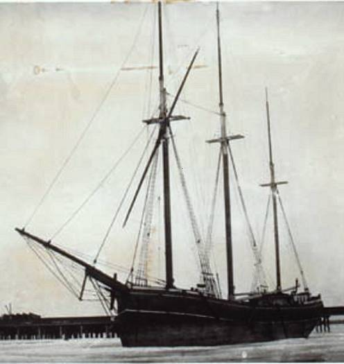 The schooner Fleetwing