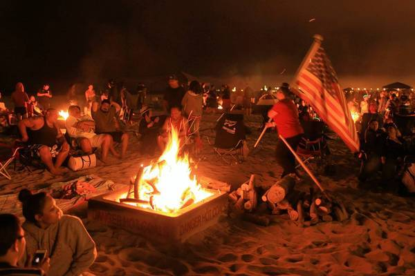Fire Rings Orange County Beach
