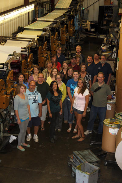 The Black Hills Pioneer will enter into a partnership with the Outdoor Forum beginning with the August 2013 issue, and the staff, pictured above, is excited to offer a dedicated outdoor product to its readers.