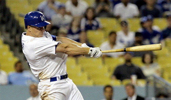 Mark Ellis drove in four runs on three hits for the Dodgers in L.A.'s 6-1 victory over the Colorado Rockies on Thursday.