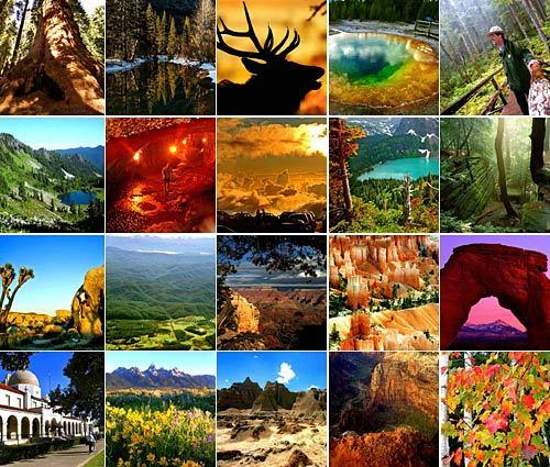 America's 58 national parks feature some of the country's most amazing views, natural formations and wildlife. These include Yellowstone's world-famous geysers, Olympic's rain forests in Washington and Arches' sweeping rock formations in Utah.<br> <br> Each year, millions travel to these parks. Here are the 20 most-visited. America's most popular park may surprise you. It's not Yosemite, the Grand Canyon or Yellowstone.<br> <br> -- Jason La and Deborah Netburn
