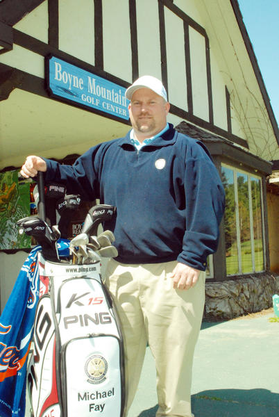 Boyne Mountain PGA golf professional Michael Fay will be featured in a series of online instructional videos in the coming weeks available at www.petoskeynews.com.
