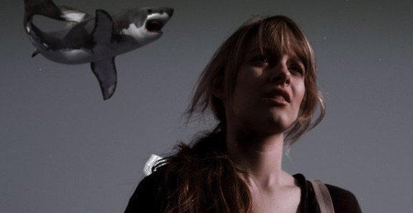 """Aubrey Peeples in """"Sharknado."""""""