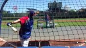 Video: Cubs pick Bryant takes his first swings at Wrigley