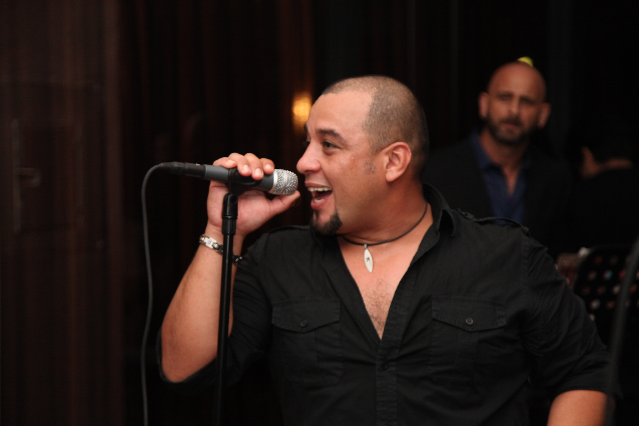 Latin artist Marlow Rosado plays Miami - Marlow Rosado at Brasileiro Restaurant