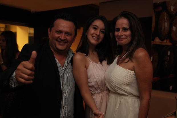 Guests at the the grand opening of the Stakehouse Basileiro Restaurant. The restaurant is located at the Four Ambassadors Suites Hotel, at 801 Brickell Bay Dr., in Miami. Staff Photographer Carmen Rodriguez