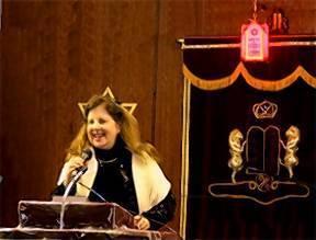 Rabbi Karen Allen of Congregation Beth Sholom.