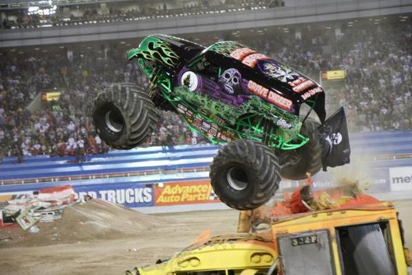 Monster Jam takes place Friday, July 19, through Sunday, July 21, at Hagerstown Speedway. Selected trucks will be on display on from 2 to 6 p.m. Thursday, July 18. Free.  Gravedigger will be at Advance Auto Parts, 17629 Virginia Ave., Hagerstown.  Son-uva-Digger will be at Advance Auto Parts, 325 E. Washington St., Hagerstown.  Gunslinger will be at Advance Auto Parts, 1510 E. Main St., Waynesboro, Pa.