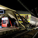 Train derails in France