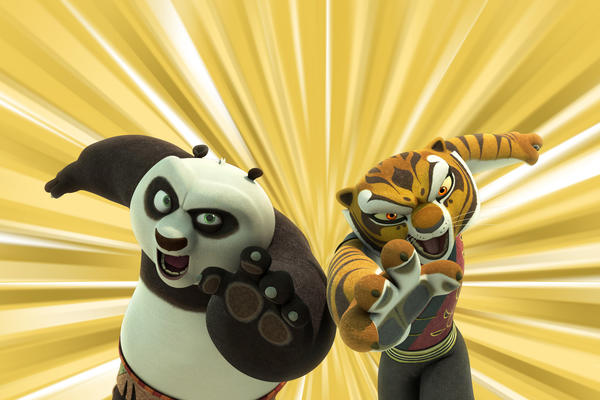 'Kung Fu Panda: Legends of Awesomeness'