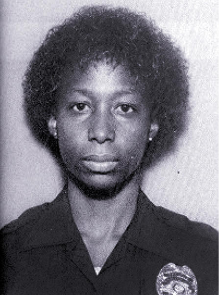 Hollywood Police Officer Frankie Shivers who was fatally shot on September 5, 1982.
