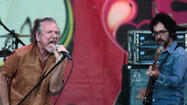 Robert plant performs at the Taste