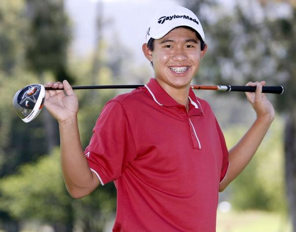 La Cañada High's Collin Morikawa is the 2013 All-Area Boys' Golfer of the Year.