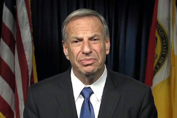 A frame from a video released by San Diego Mayor Bob Filner on Thursday in which he apologized for his behavior toward women.