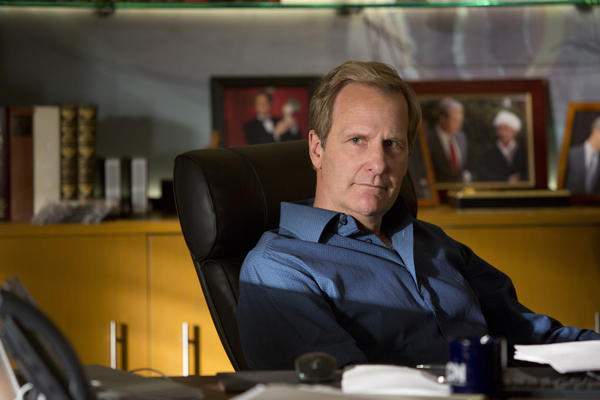 Jeff Daniels in HBO's 'The Newsroom'