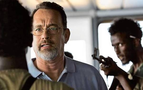 "Tom Hanks in ""Captain Phillips,"" filmed in Hampton Roads last year."