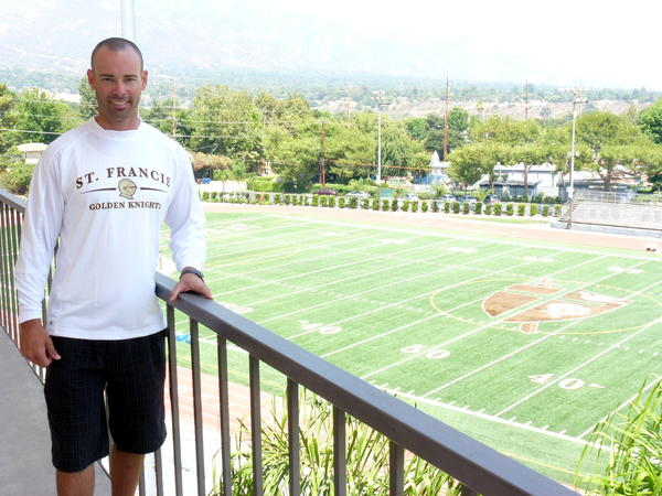 St. Francis High has hired Matt Luderer as its new athletic director.