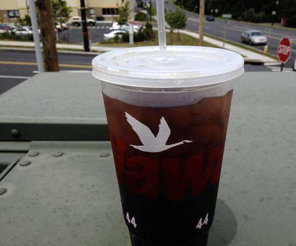 In Pennsylvania, brewed iced tea is not taxable, making it cheaper than other soft drinks.