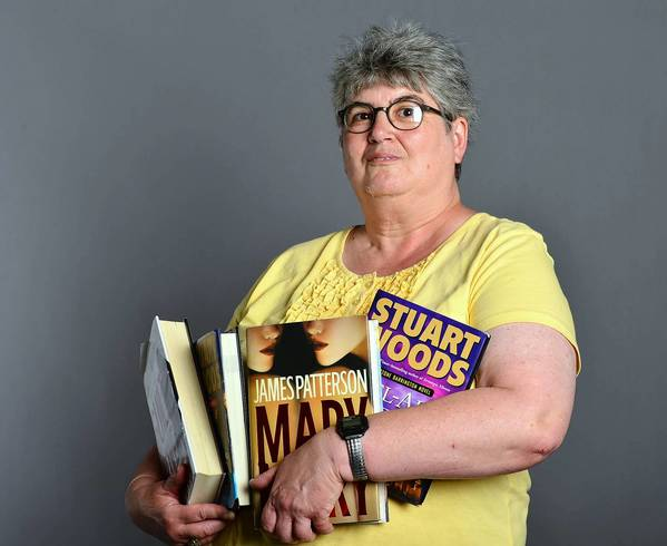 Mary Snyder of Allentown enjoys myster and fast-paced books