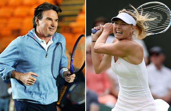 Jimmy Connors, Maria Sharapova