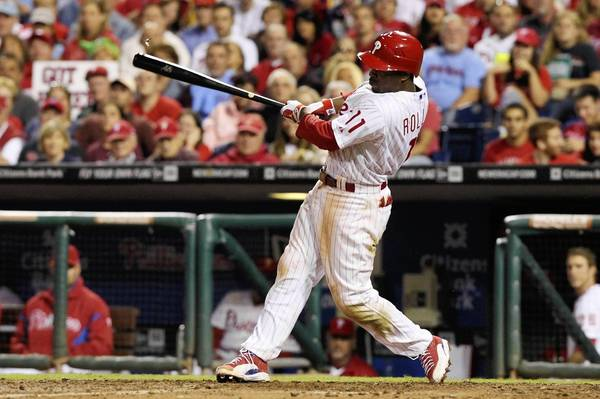 Phils shortstop Jimmy Rollins is a three-time All Star and four-time Gold Glove winner, and has spent all of his major league seasons with the Phils.