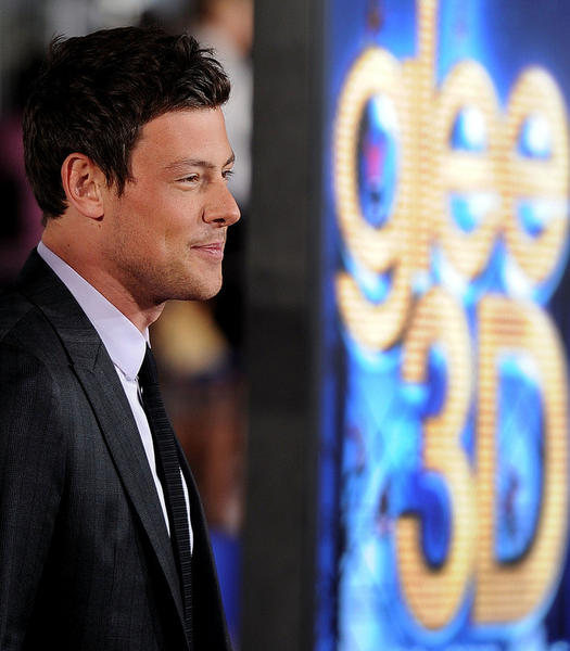 "Cory Monteith arrives at the Premiere Of Twentieth Century Fox's ""Glee The 3D Concert Movie"" at the Regency Village Theater on August 6, 2011 in Westwood, California."
