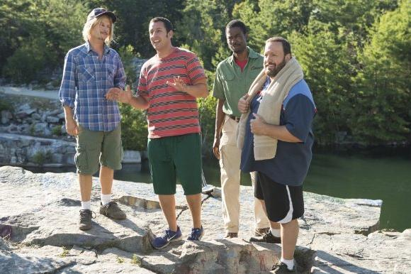 """Grown Ups 2"" beat ""Pacific Rim"" at the box office this weekend"