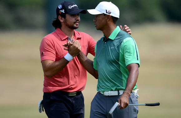 Jason Day, Tiger Woods