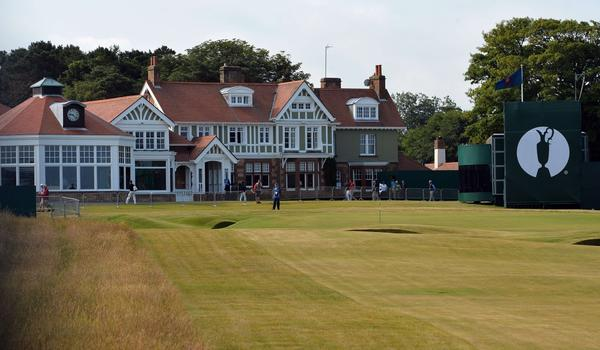 The clubhouse at Muirfield Golf Course, site of the 2013 British Open.