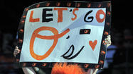 Fan signs at Orioles games [Pictures]