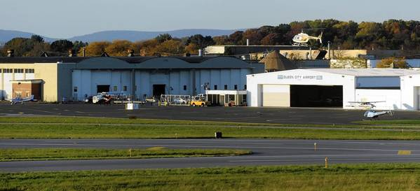 Queen City Airport in south Allentown is home to roughly 90 small planes owned by 70 businesses and pilots.