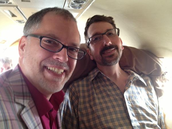 Jim Obergefell and John Arthur married on a medical jet at BWI in July. Arthur's ALS made it difficult to travel, but they had to make the trip because Ohio doesn't allow same-sex marriage.