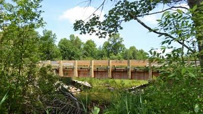 The East Twin Creek Bridge in Lake County is part of a pair of projects for which Northwest Design Group was recognized by the Coalition for Recreational Trails.