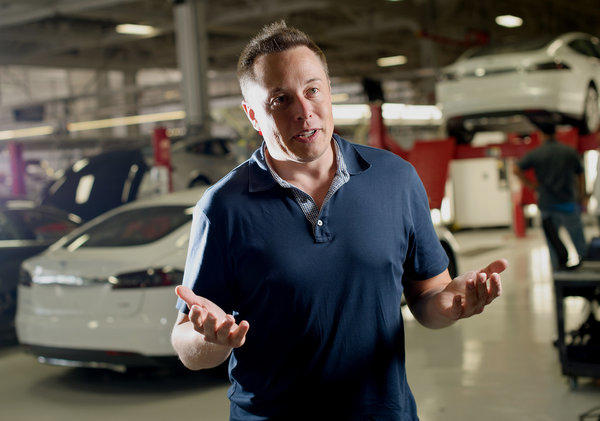 Elon Musk says he will reveal plans for a high-speed mode of transportation.