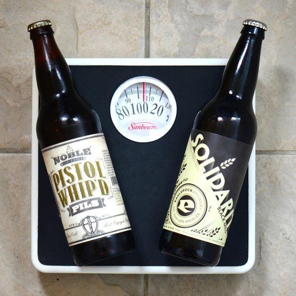 Five great light beers because a 39 beer belly 39 isn 39 t a for Calories in craft beer