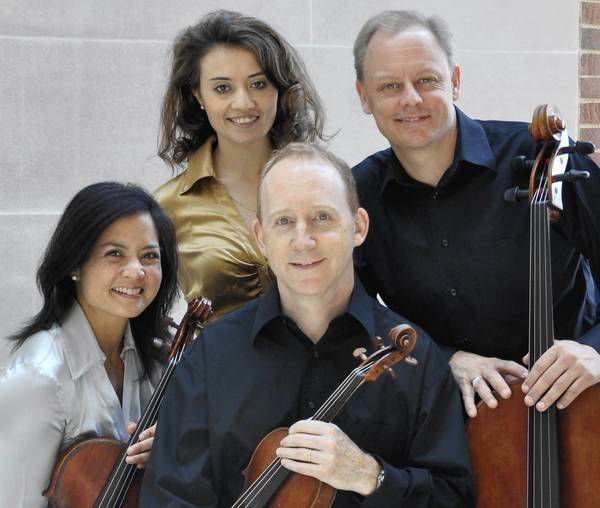 The Arianna String Quartet plays Music Mountain Summer Festival.