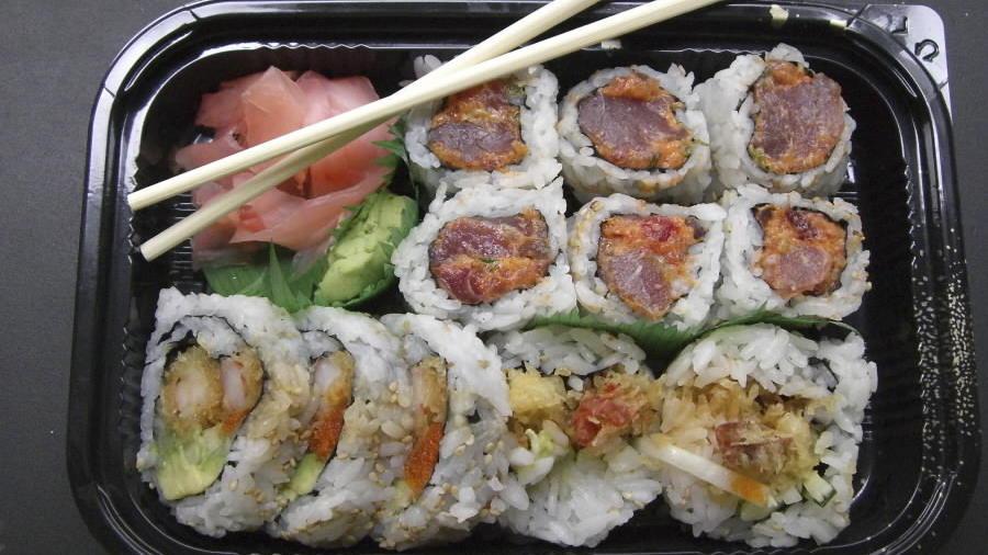 Delicious Looking Sushi Delicious Looking Sushi Rolls