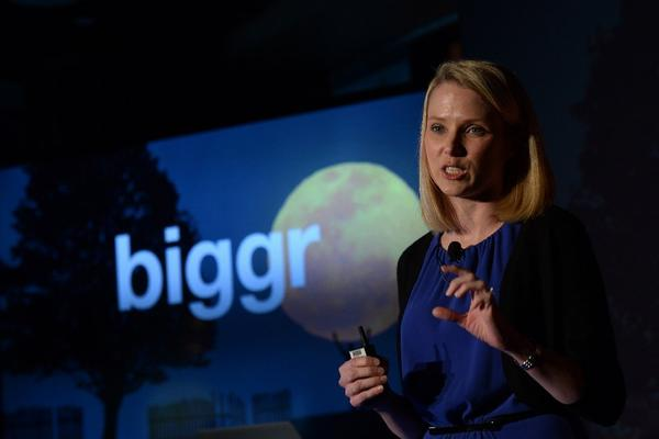 Chief Executive Marissa Mayer is charged with staging Yahoo's comeback.