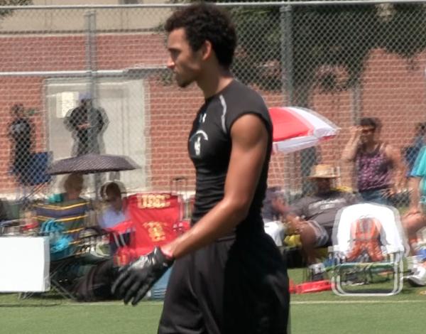 Dante Pettis at Edison tournament.