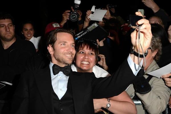 Bradley Cooper takes a selfie at the Palm Springs International Film Festival Awards Gala in January.