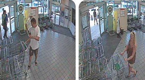 Police are looking for a pair who stole steaks and other meat from a Publix Super Market in Lady Lake.