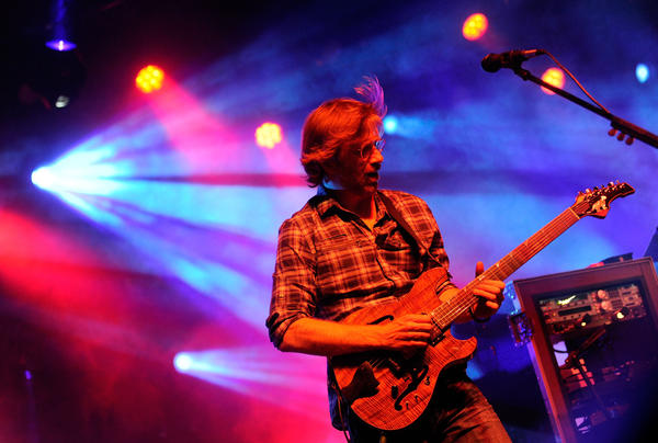 "Phish's Trey Anastasio, pictured here during a 2011 performance at Merriweather Post Pavilion, played ""Architect"" from his recent solo album this past weekend in Columbia."