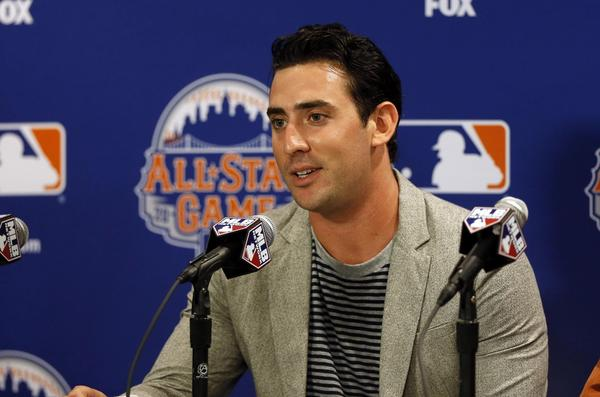 The Mets' Matt Harvey, who played at Fitch High School in Groton, was named the starting pitcher for the National League in the 2013 All Star Game at Citi Field.