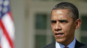 Facing talk of Trayvon Martin and race, Obama walks a fine line