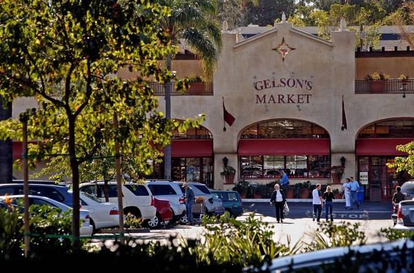Gelson's Markets, which has 16 stores in Southern California, is known for its pricey imported foods, specialty brands and sushi. Above, the chain's Santa Barbara store.