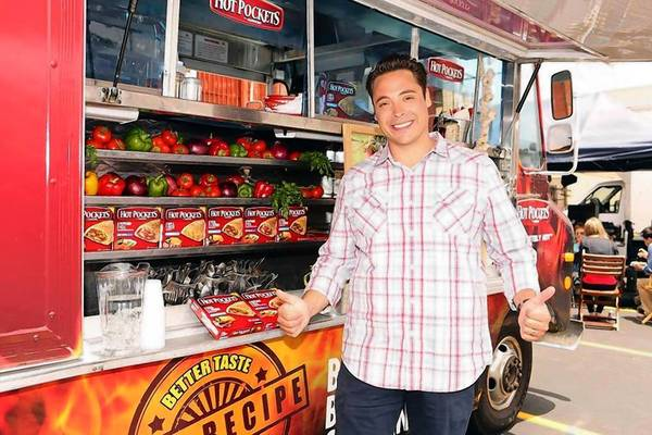 "Jeff Mauro, host of the Food Network series ""Sandwich King,"" will be pitching Hot Pockets' updated offerings and may even design a sandwich himself."
