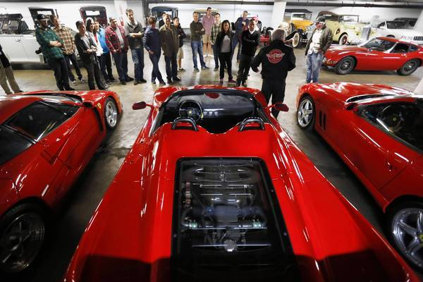 Petersen Automotive Museum visitors can pay $25 for a guided tour of its vault to learn the stories behind about 130 cars, most of which are linked to Hollywood stars and other notables.